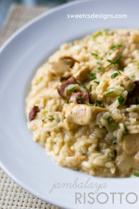 Jambalaya Risotto by sweetcsdesigns.com