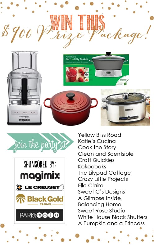 Win an awesome prize package full of the best kitchen gadgets and accessories!