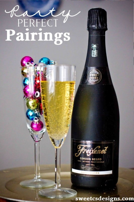 Party perfect pairings- the best foods to pair with Cava