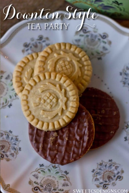 Downton Style tea desserts- find the perfect tea cookies at world market!