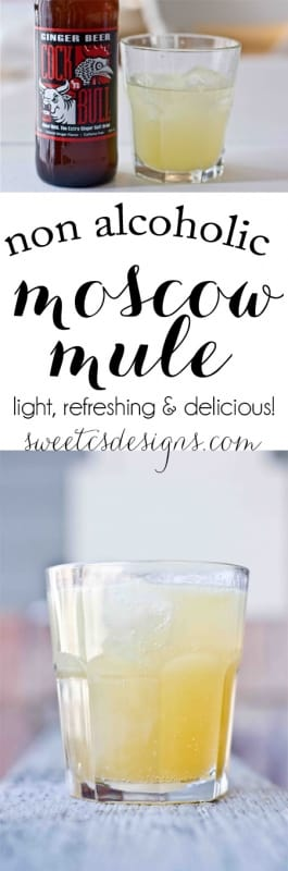 My favorite non-alcoholic drinnk- Virgin Moscow Mules! These are so refreshing and delicious and so easy to make for a crowd!